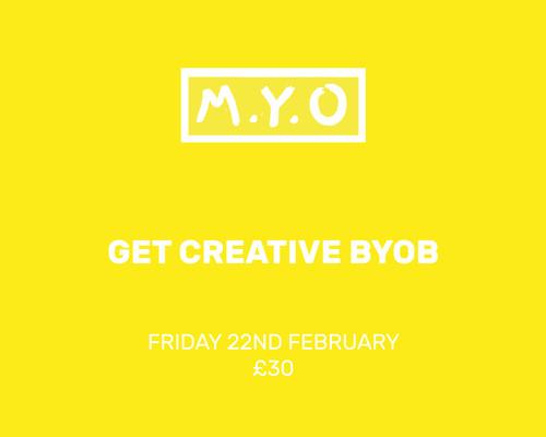 Get Creative BYOB