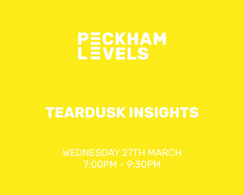 Peckham Levels: Teardusk Insights