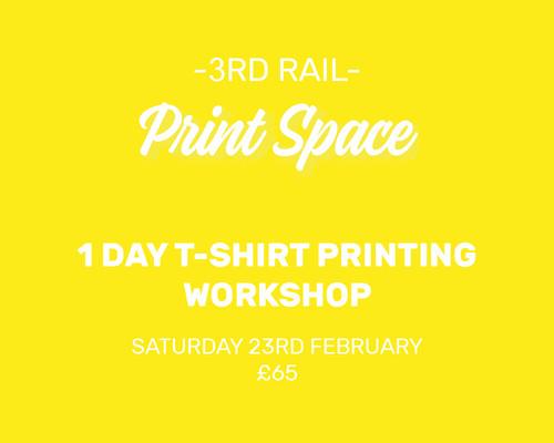 1 Day T-Shirt Printing Workshop