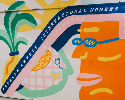 Messe Jesse's International Women's Day Mural