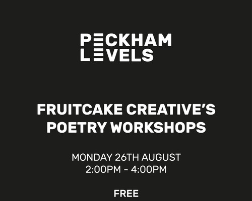 Fruitcake Creative's Poetry Workshops