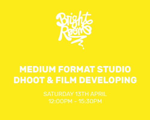 Bright Rooms: Medium Format Studio shoot and film developing