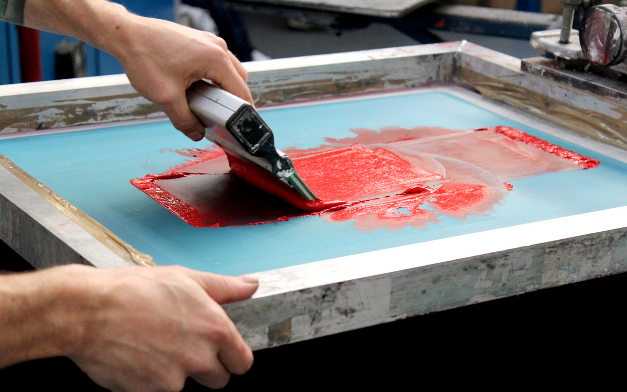 Monoprinting workshop with Lydia Hamblet