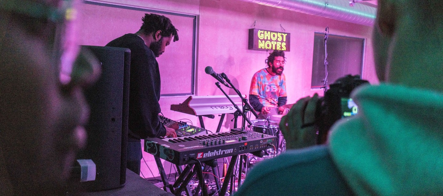 Drawing inspiration directly from our immediate community, Ghost Notes will provide a platform for the incredible network of musicians, artists and promoters who call South London home.