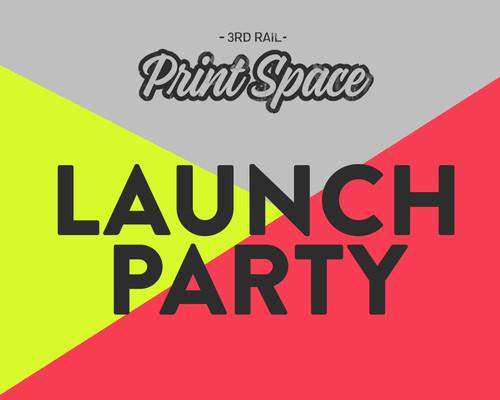 3rd Rail Print Space Launch