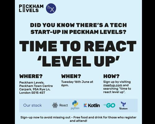 Time To React: hx Tech Meetup