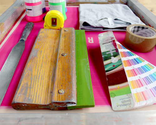 A new screen printing studio is on the way
