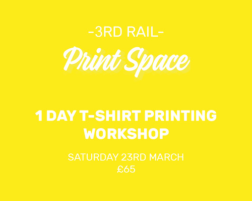 1 Day T-Shirt Printing Workshop