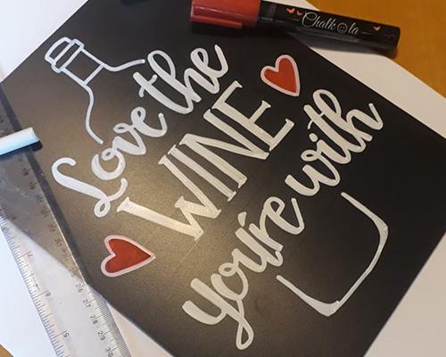 Chalkboard Lettering for Beginners