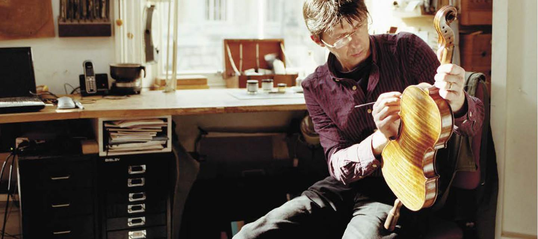 Maker of violins, violas & cellos.
