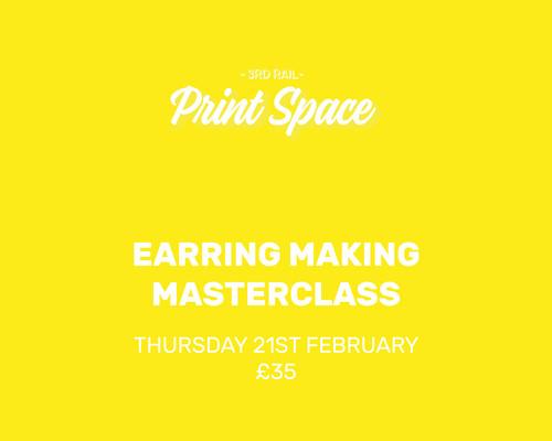 Earring Making Masterclass
